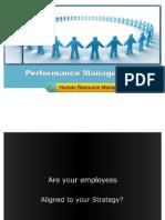 Performance Management - Human Resource Management