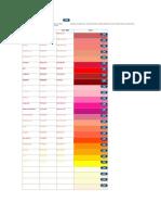 Colores HTML