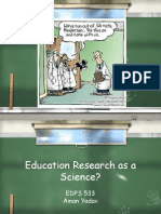 Science Involves Arguing From Methodologically Sound