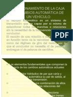 FUNCIONAMIENTO DE LA CAJA DE CAMBIOS AUTOMÁTICA DE