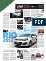 SobreRuedas Nuevo Kia Rio 2012