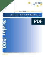 Scalar i500 UsersGuide
