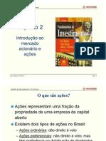Introdu+º+úo ao mercado acion+írio