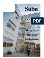 Musgrave's Business Environment Assignment