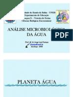 Análise Microbiológica da Água