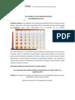 Teoria Radio Atomico y Electronegatividad