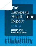 The+European+Health+Report+2009 Health+and+Health+Systems