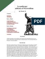 A Handbook of Werewolf Ism