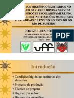 Merenda Escolar - Mestrado - Apresentação - UFF