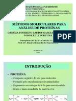 Métodos Moleculares para Análise de Proteínas