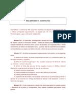 Ley 1246-Reglamentaria Del Juicio Politico