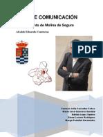 Plan de Comunicación. Atuntamiento de Molina de Segura, Murcia