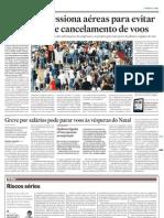 Economia - Jornal O Estado de S. Paulo - Caos Aéreo  - 20111214 Pág B06