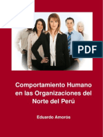 Amoros Eduardo - Comport a Mien To Humano en Las Organizaciones Del Norte