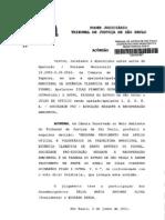 TJSP AP 990-10-425311 0 (Jun 11) Pousada Em APP Topo Morro