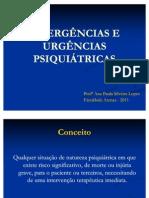 Emergencias e Urgencias Psiquiatricas