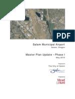 Salem Municipal Airport - Master Plan Update Phase I