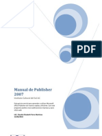 Manual de Microsoft Publisher 2007