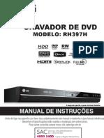 Manual Gravador de Dvd Lg Rh397h Rev 01