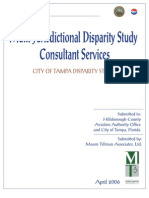 City of Tampa Disparity Study Report Report Vol_2_050406