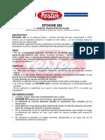 Fester Para Grietas Archivos_fichasTecnicas_EPOXINE220