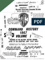 Command History 1967 Volume I