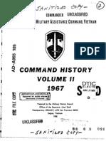 Command History 1967 Volume II