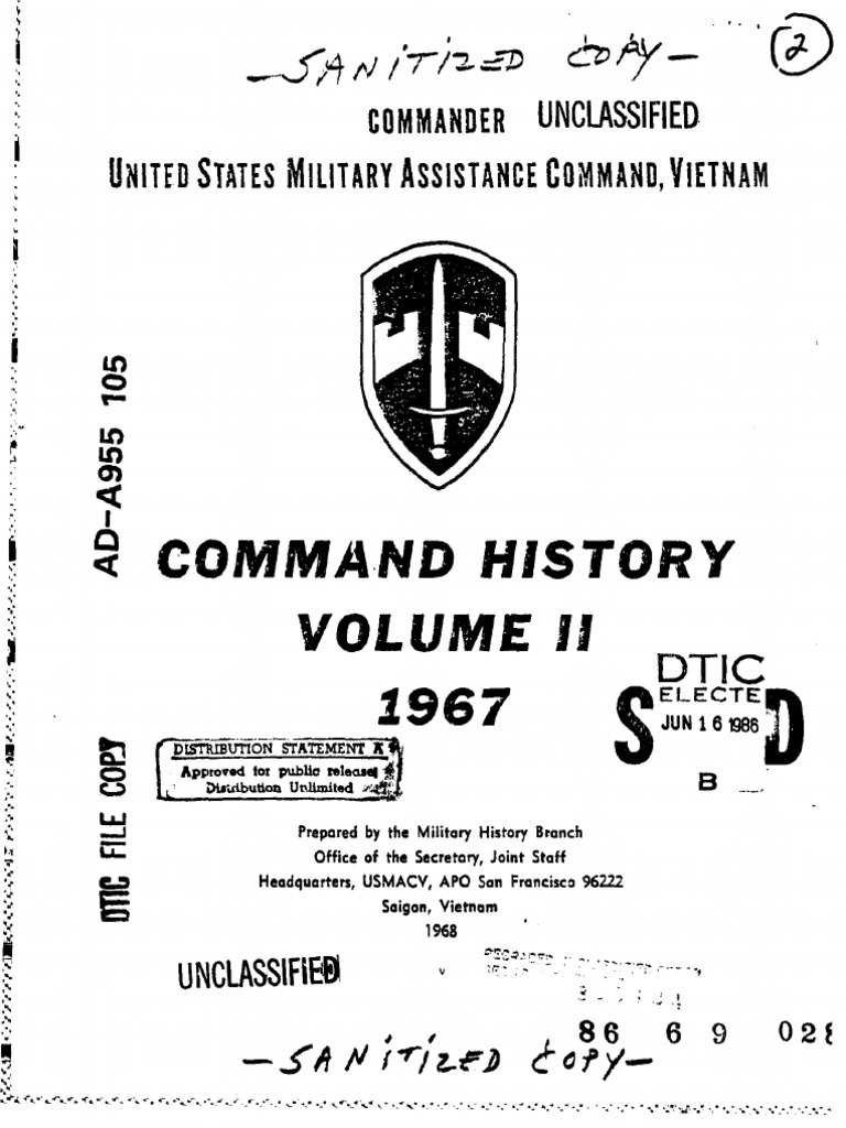 Iz2 dress mail order_bu 0 - Command History 1967 Volume Ii Ngo Dinh Diem Classified Information