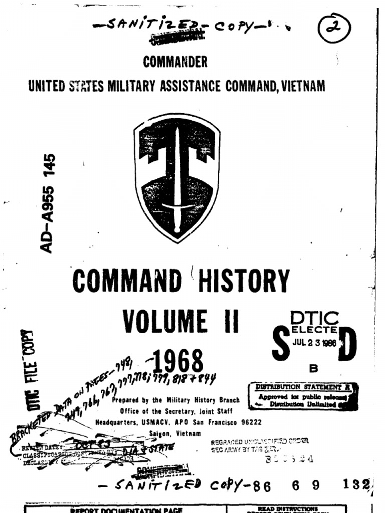 Command History 1968 Volume II  ef7ce02a6d