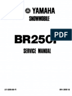 Yamaha BR250 Bravo Snowmobile Service Manual (2)