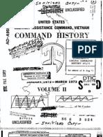 Command History 1972-1973 Volume II