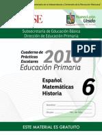 6o Cuaderno de Prácticas Escolares