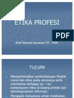 Etika Profesi - Bab 1 Tinjauan Umum Filsafat Moral Dan Etika