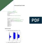 Penambahan Noise Gaussian Pada Sinyal Audio