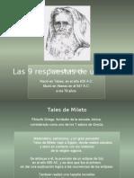 TALES DE MIEITO 9 PREGUNTAS