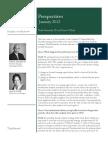 Credo Capital Management q4 2011 Performance Perspectives