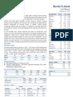 Market Outlook 15th February 2012