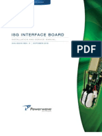044-05310 ISG Interface Board Installation and Service Manual Rev C