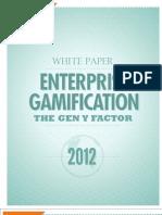 Enterprise Gamification - The Gen Y Factor, Bunch Ball, .02