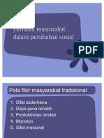 perubahan sosial 2