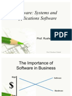 Software Systems and Applications Software