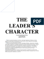 The Leader's Character