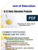 K-12 Basic Education Program