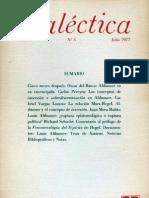 Dialéctica, nº 03, julio 1977