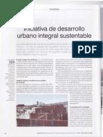 Iniciativa de desarrollo urbano integral sustentable (2009)