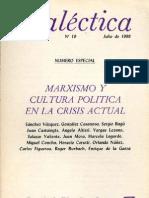 Dialéctica, nº 19, julio 1988