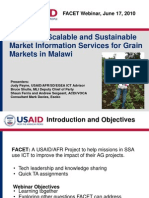 Designing Scalable and Sustainable Market Information Services for Grain Markets in Malawi