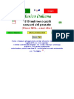 Italia 1400 canciones