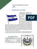 Situación Geográfica de El Salvador