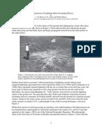 An Examination of Lightning-Strike-Grounding Physics